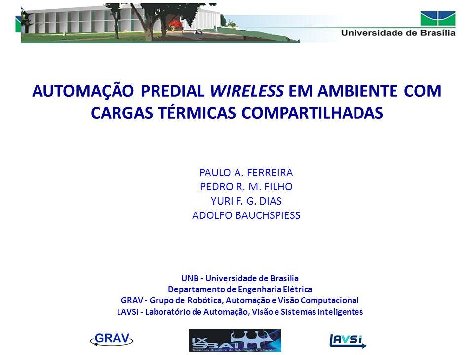 AUTOMAÇÃO PREDIAL WIRELESS EM AMBIENTE COM CARGAS TÉRMICAS COMPARTILHADAS