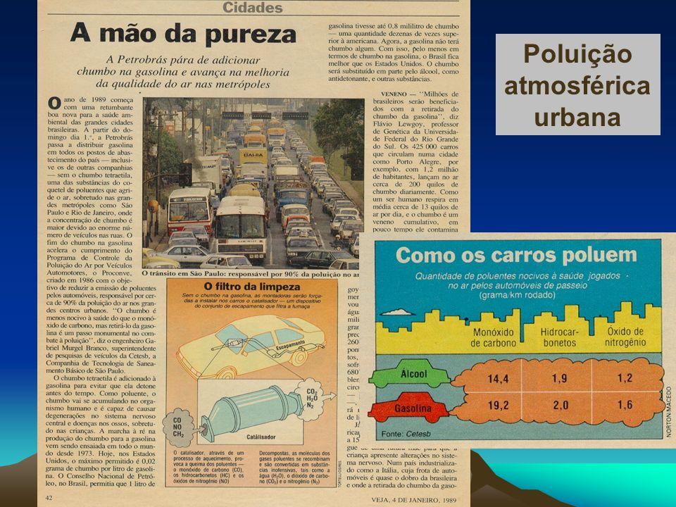 Poluição atmosférica urbana