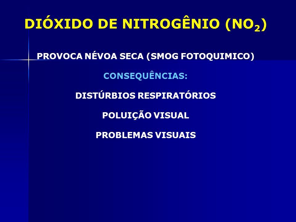 DIÓXIDO DE NITROGÊNIO (NO2)