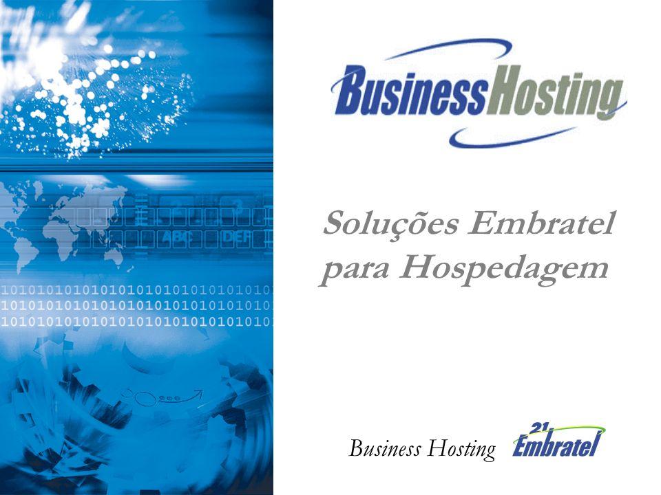 Soluções Embratel para Hospedagem Business Hosting