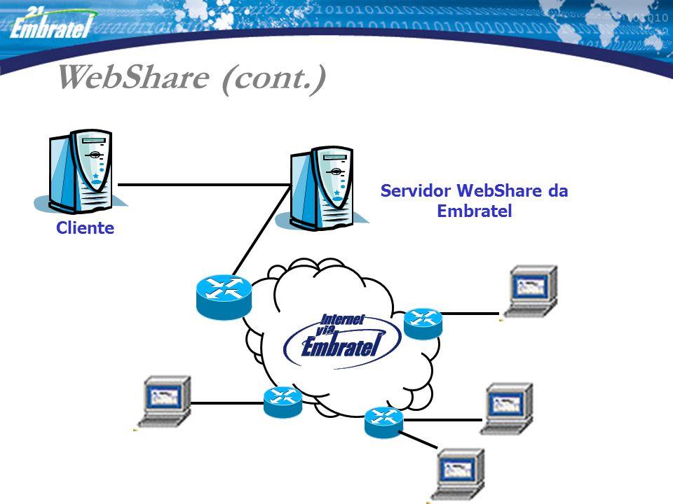 Servidor WebShare da Embratel