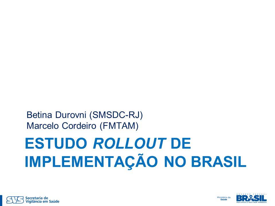ESTUDO ROLLOUT DE IMPLEMENTAÇÃO NO BRASIL