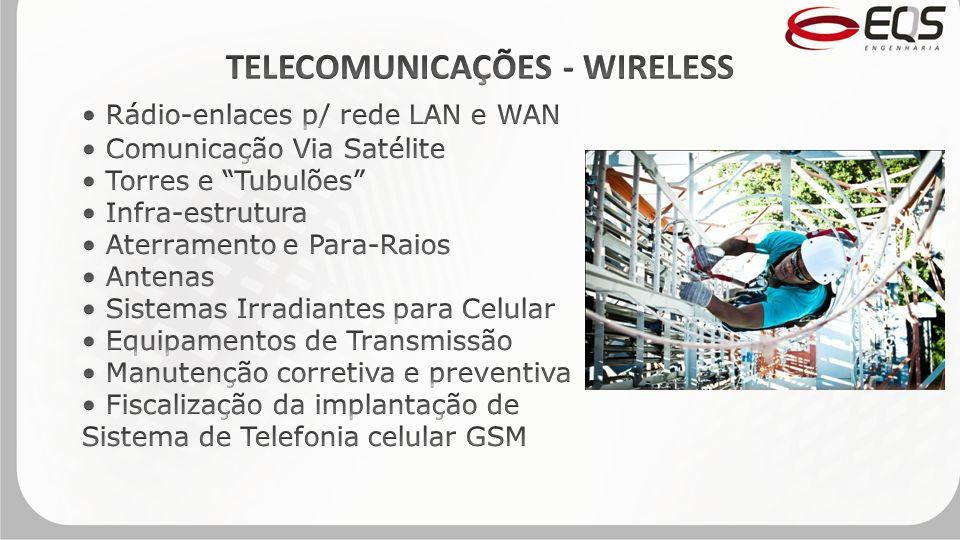 TELECOMUNICAÇÕES - WIRELESS