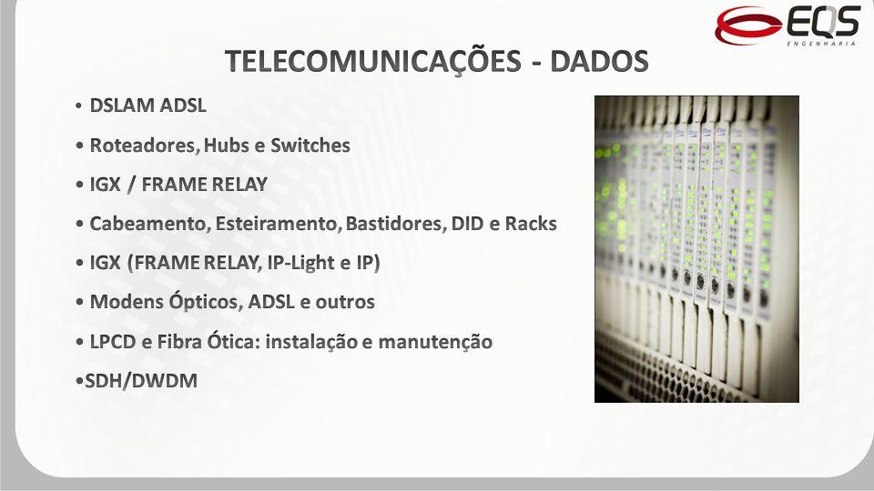 TELECOMUNICAÇÕES - DADOS