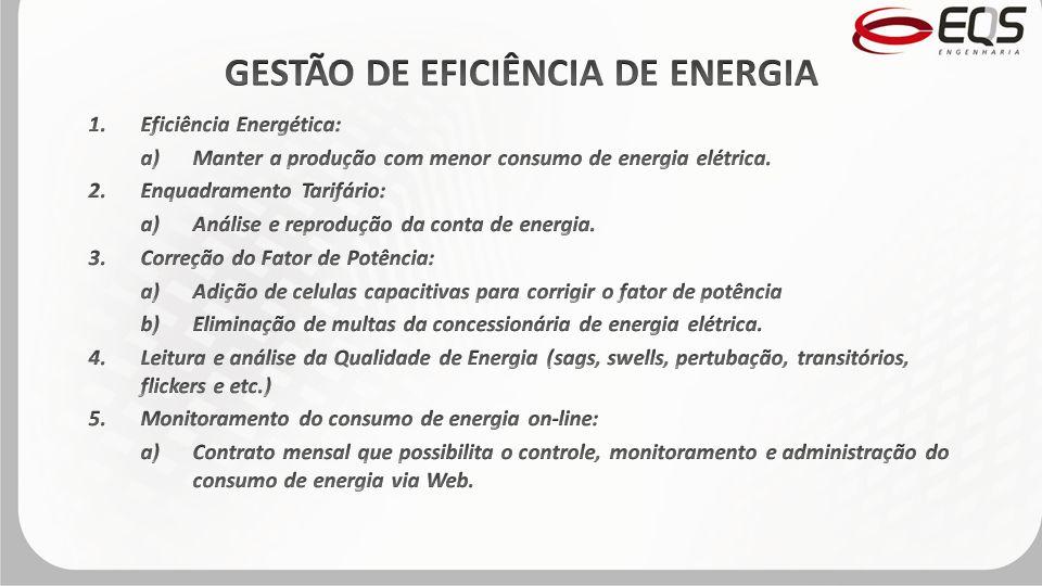 GESTÃO DE EFICIÊNCIA DE ENERGIA