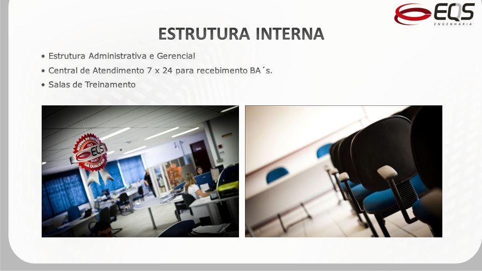 ESTRUTURA INTERNA Estrutura Administrativa e Gerencial