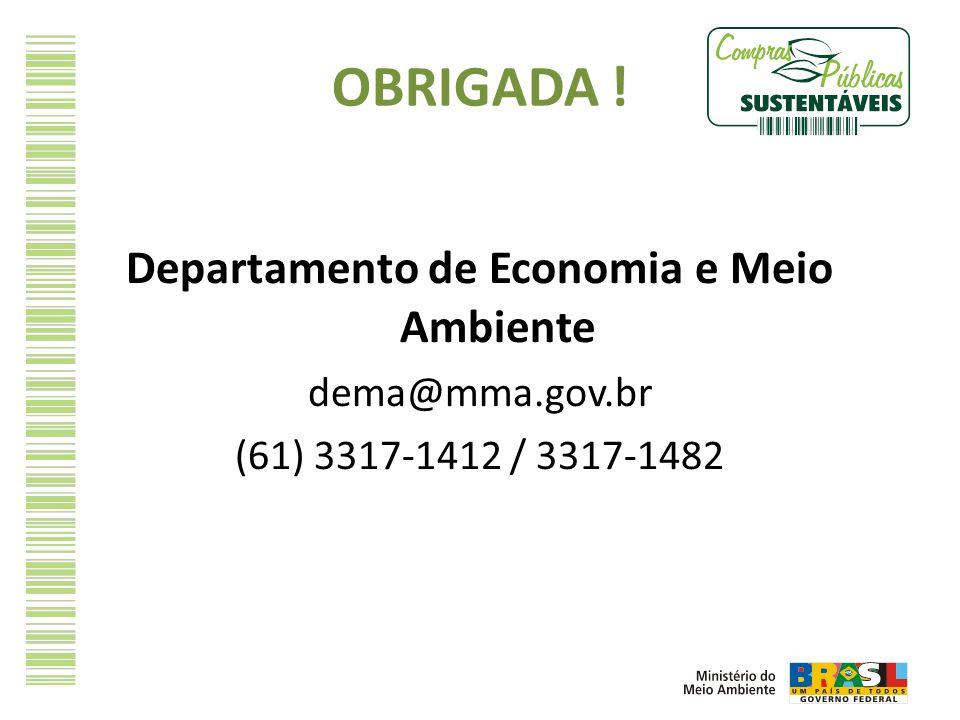 Departamento de Economia e Meio Ambiente