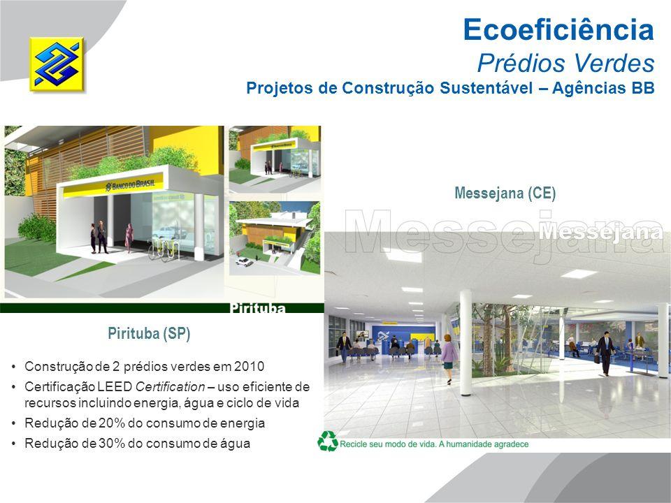Ecoeficiência Prédios Verdes