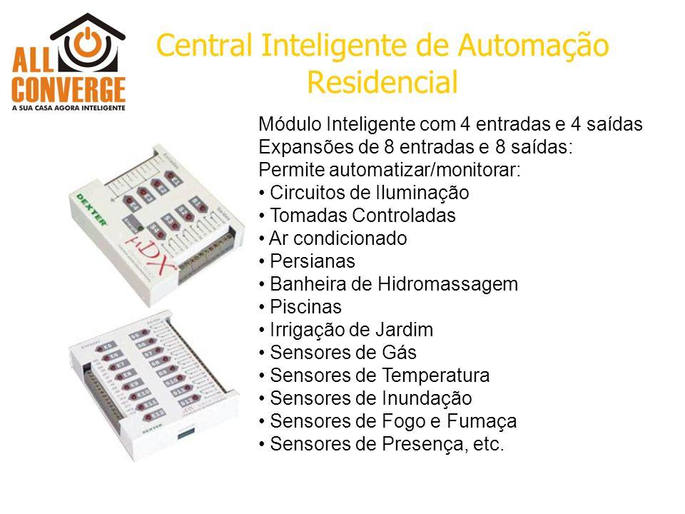 Central Inteligente de Automação Residencial