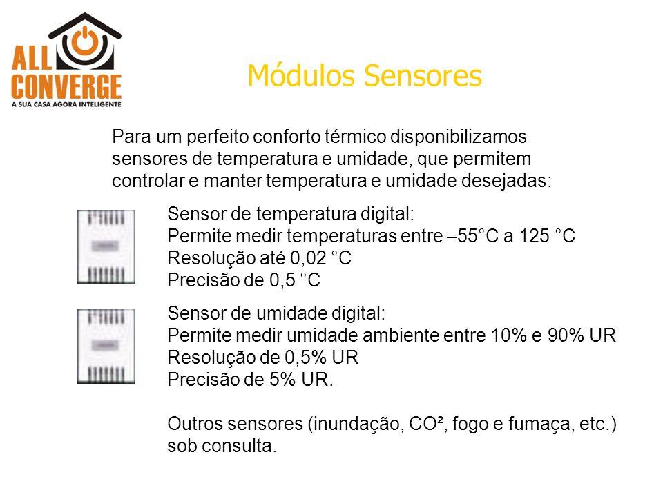 Módulos Sensores