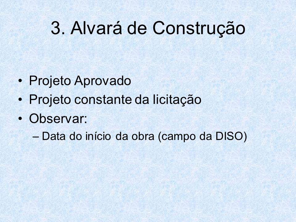 3. Alvará de Construção Projeto Aprovado