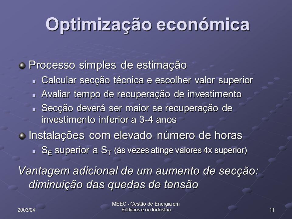 Optimização económica