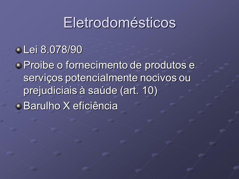 Eletrodomésticos Lei 8.078/90