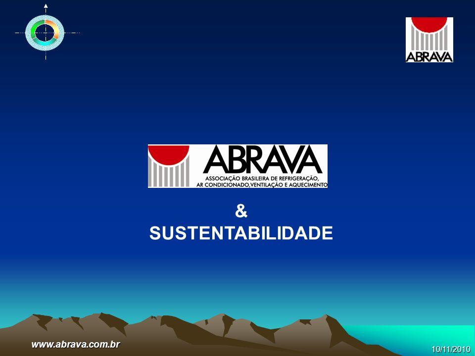 & SUSTENTABILIDADE www.abrava.com.br 10/11/2010