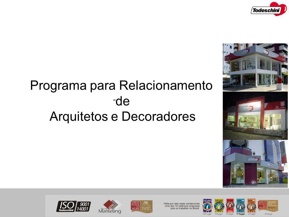 Programa para Relacionamento de Arquitetos e Decoradores