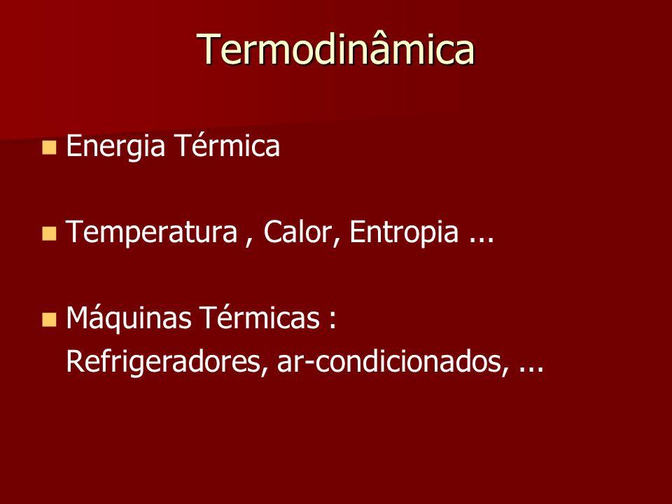 Termodinâmica Energia Térmica Temperatura , Calor, Entropia ...