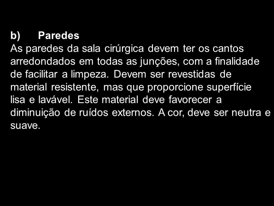 b) Paredes
