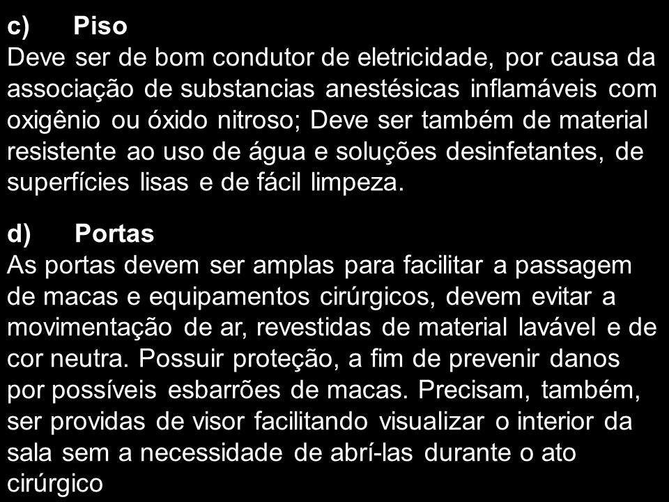 c) Piso