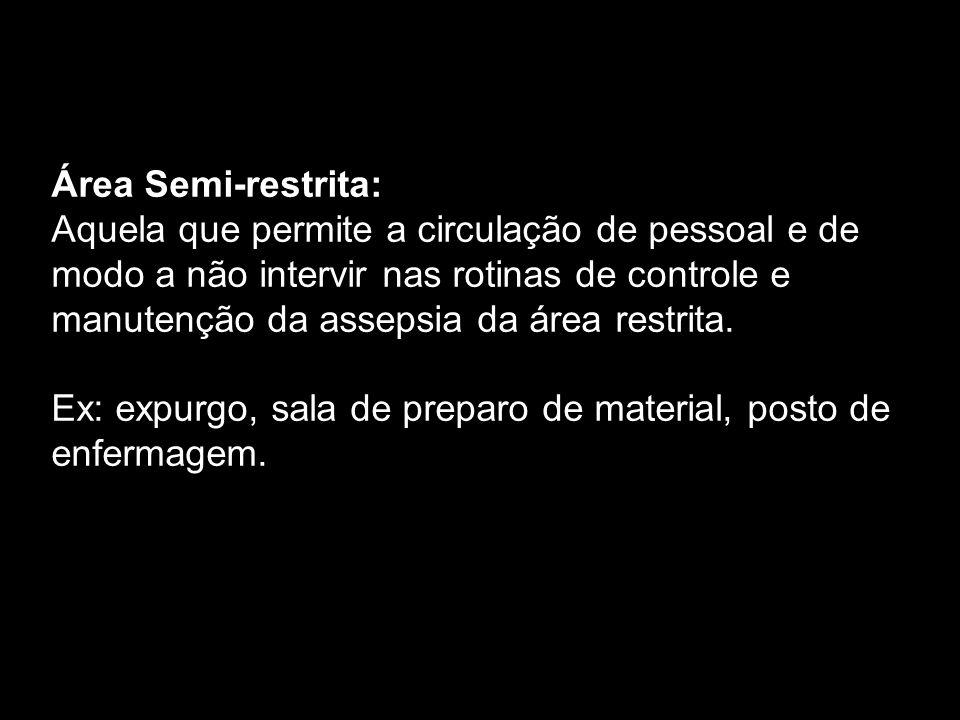 Área Semi-restrita: