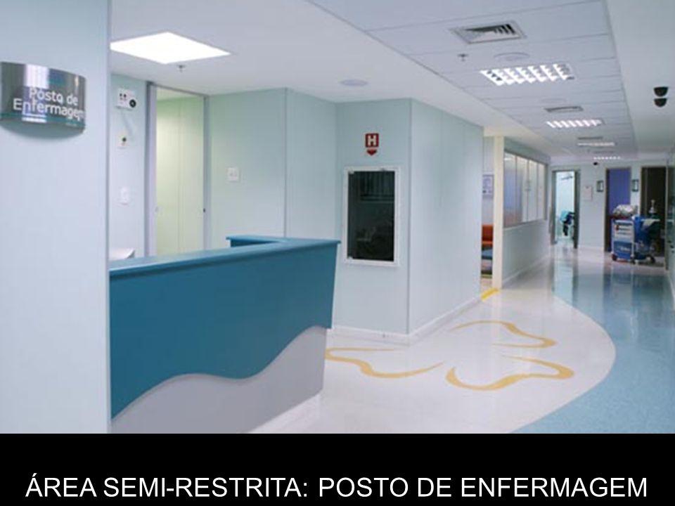 ÁREA SEMI-RESTRITA: POSTO DE ENFERMAGEM