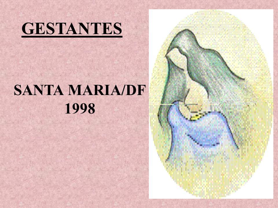 GESTANTES SANTA MARIA/DF 1998