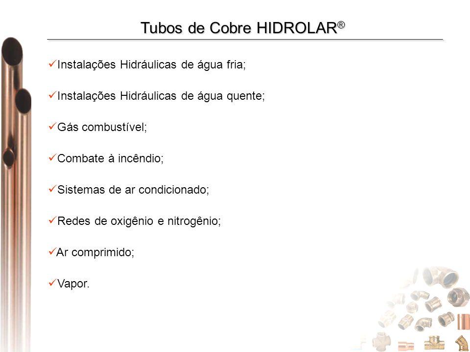 Tubos de Cobre HIDROLAR®