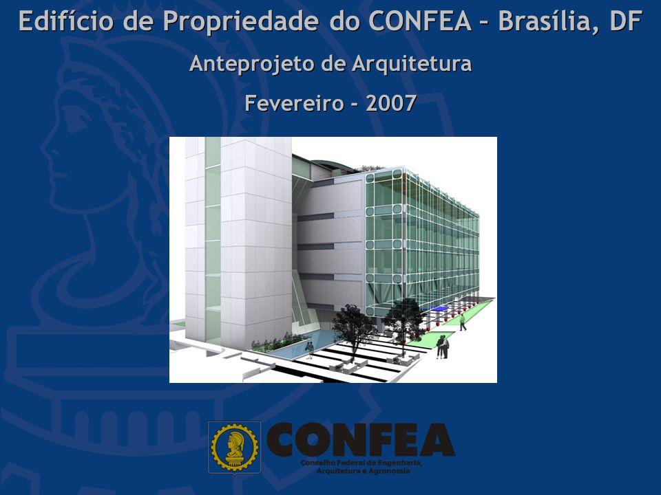 Edifício de Propriedade do CONFEA – Brasília, DF