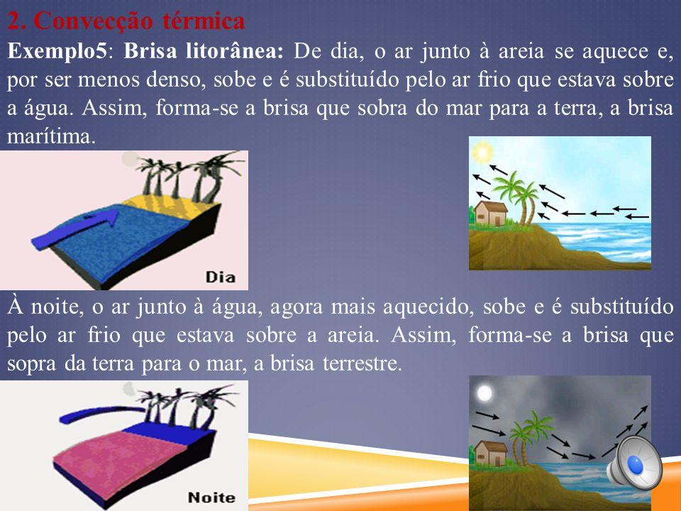 2. Convecção térmica