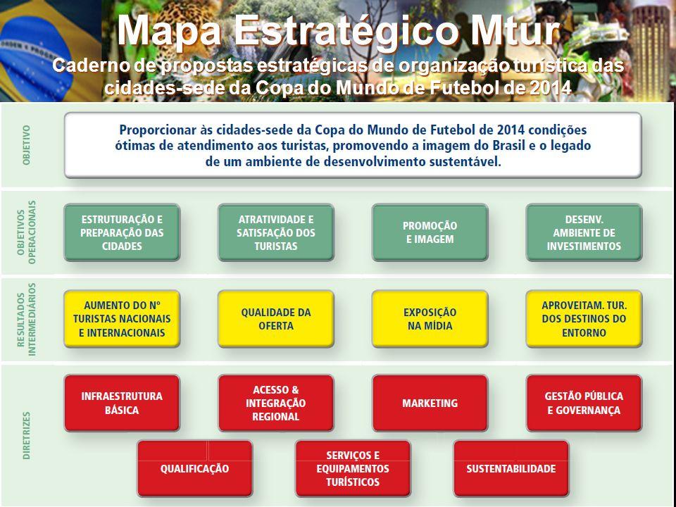 Mapa Estratégico Mtur Caderno de propostas estratégicas de organização turística das cidades-sede da Copa do Mundo de Futebol de 2014