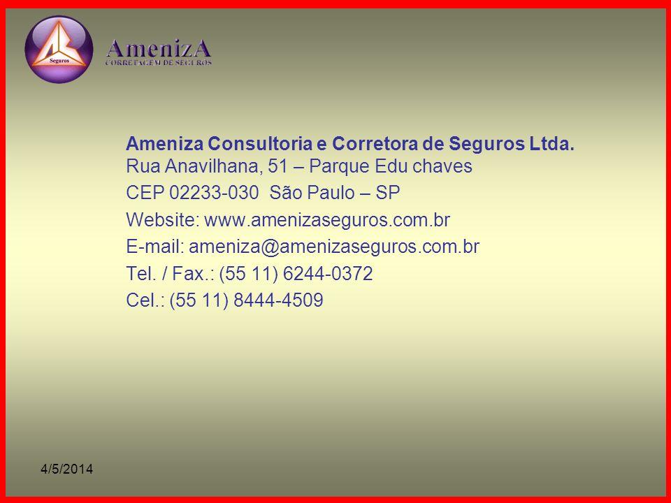 Ameniza Consultoria e Corretora de Seguros Ltda.