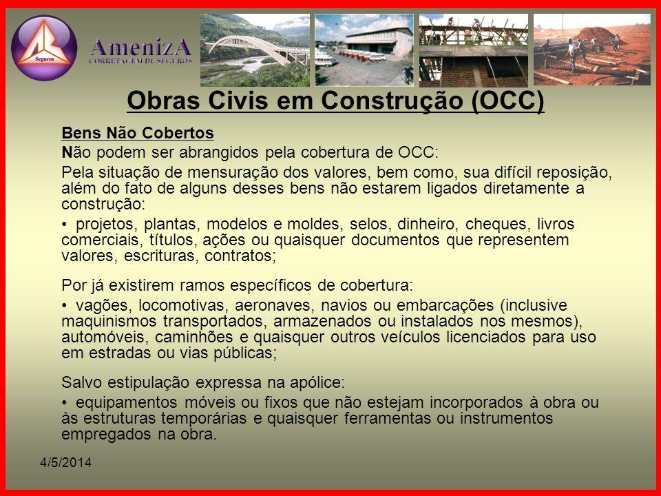 Obras Civis em Construção (OCC)