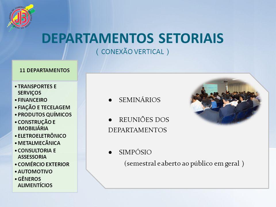 DEPARTAMENTOS SETORIAIS