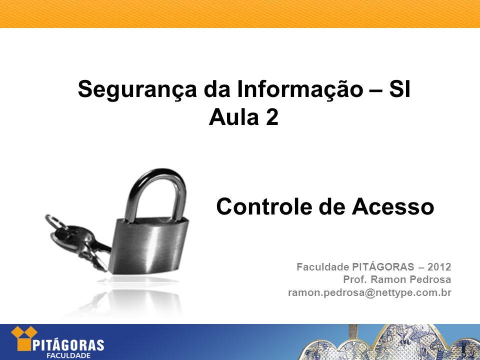 Segurança da Informação – SI