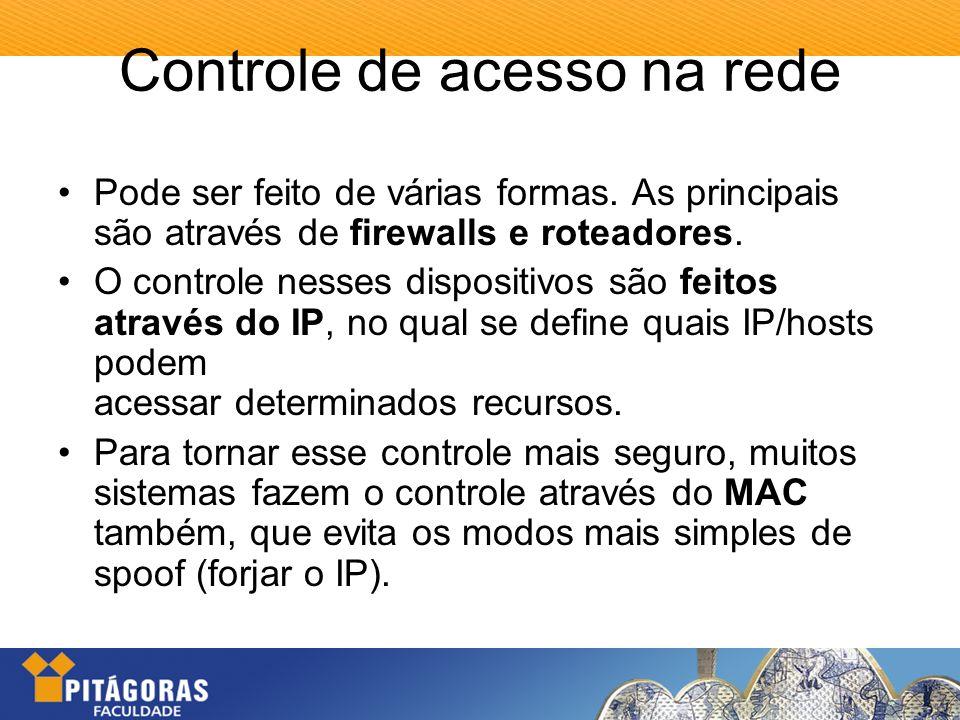 Controle de acesso na rede