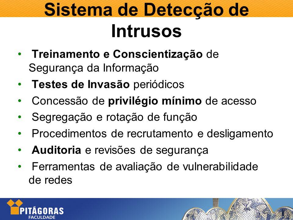 Sistema de Detecção de Intrusos