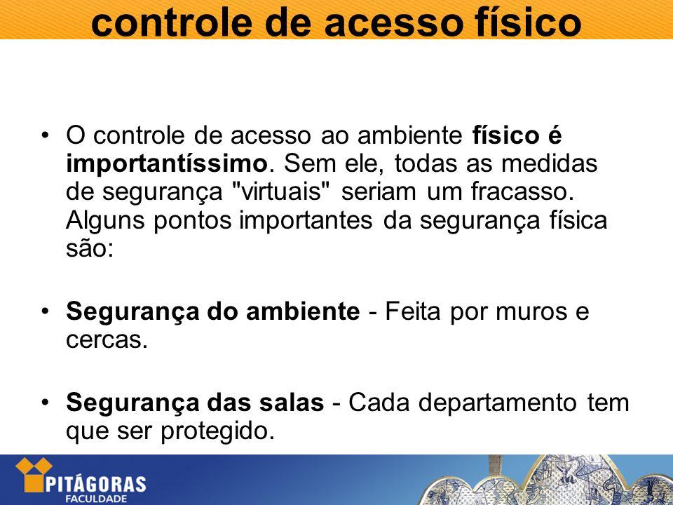 controle de acesso físico