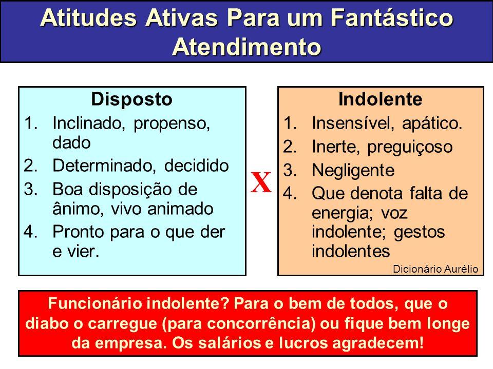 Atitudes Ativas Para um Fantástico Atendimento