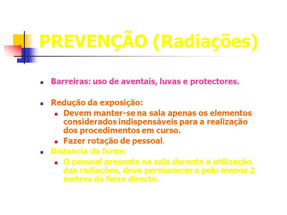 PREVENÇÃO (Radiações)