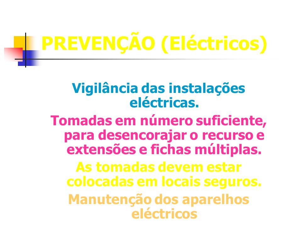 PREVENÇÃO (Eléctricos)