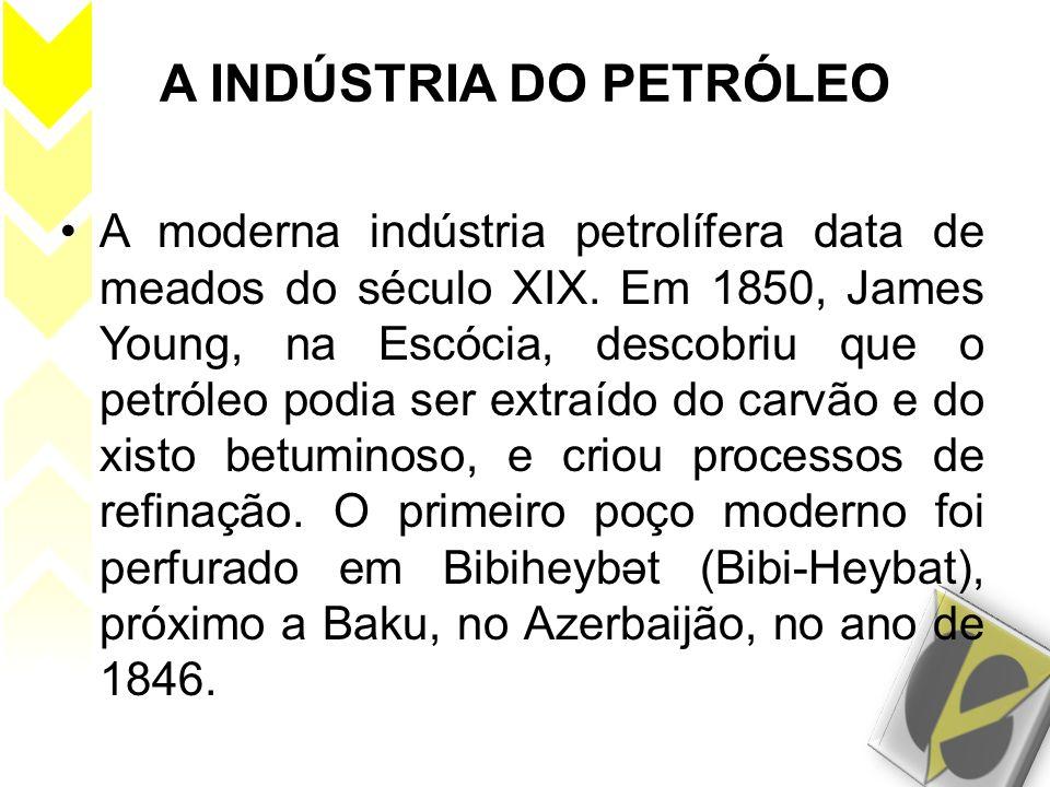 A INDÚSTRIA DO PETRÓLEO