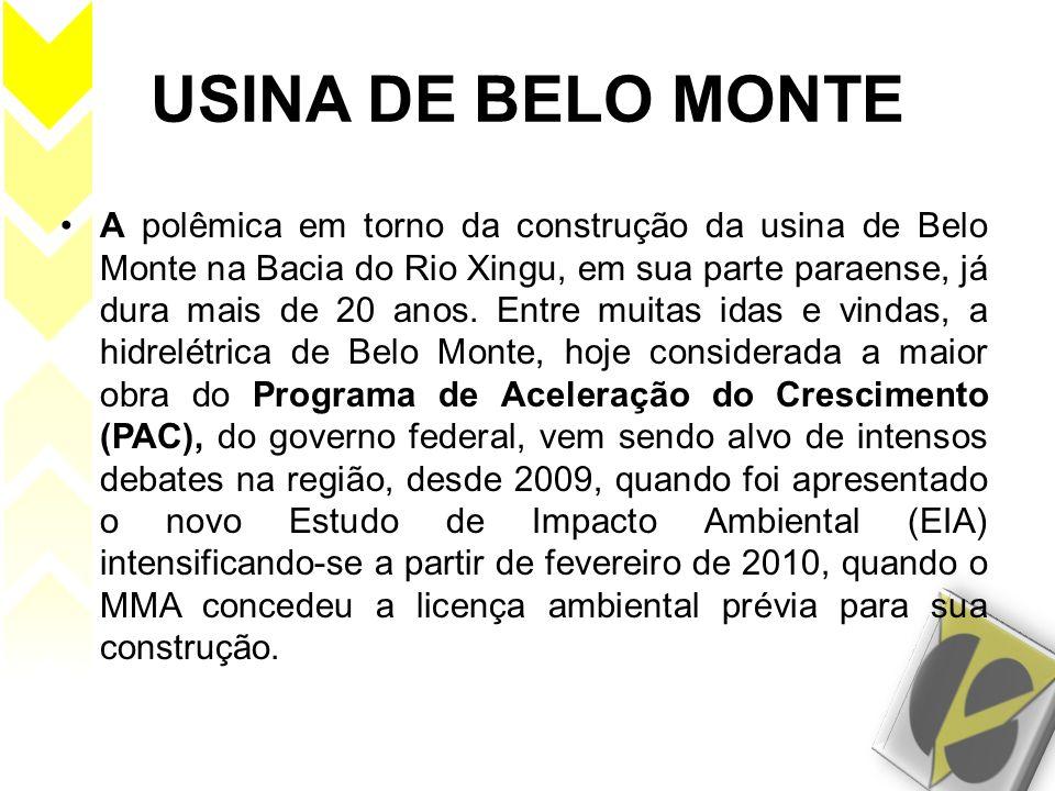 USINA DE BELO MONTE