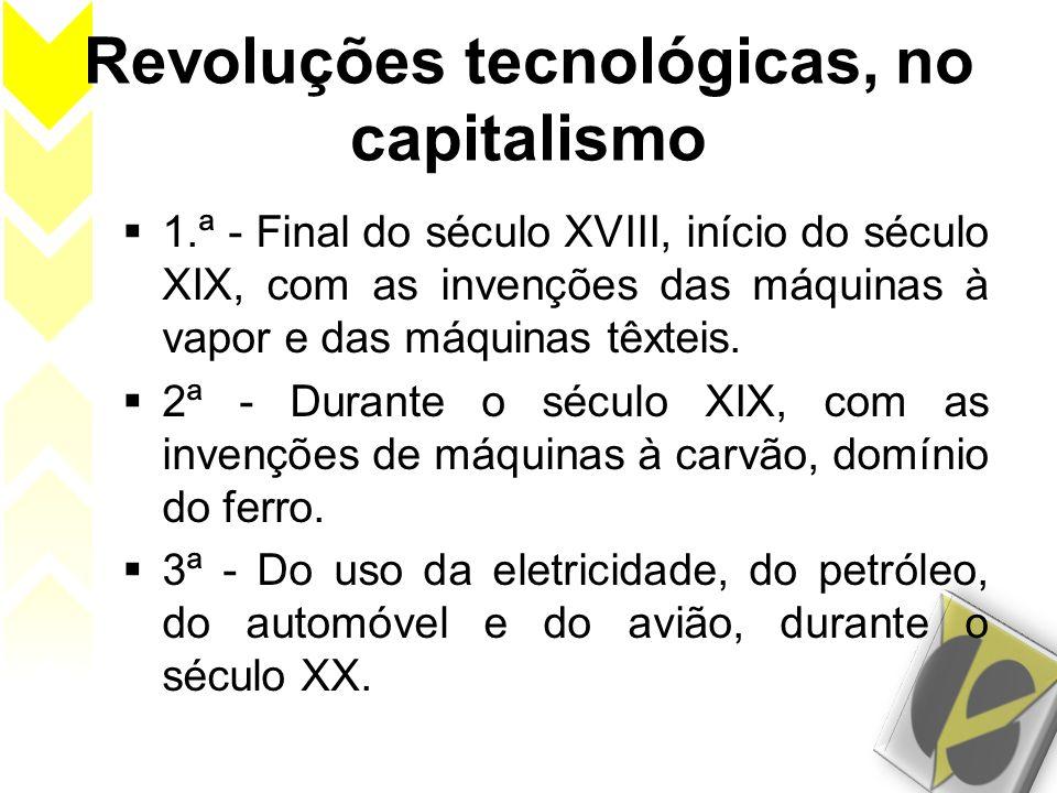 Revoluções tecnológicas, no capitalismo