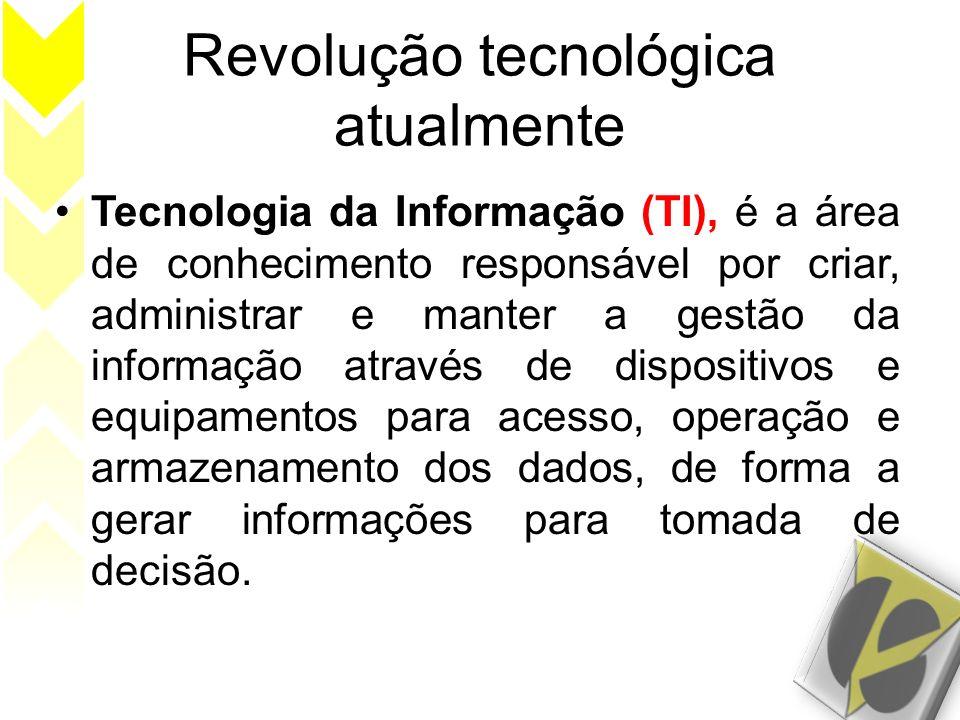 Revolução tecnológica atualmente