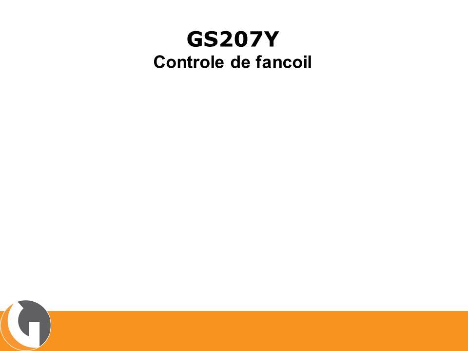 GS207Y Controle de fancoil