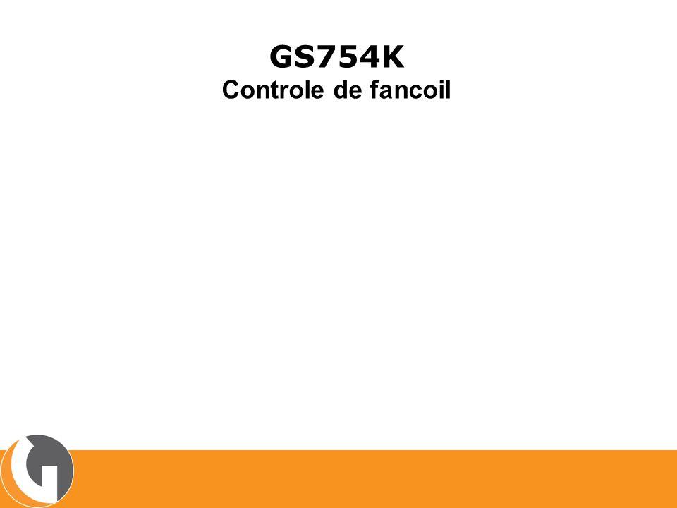 GS754K Controle de fancoil