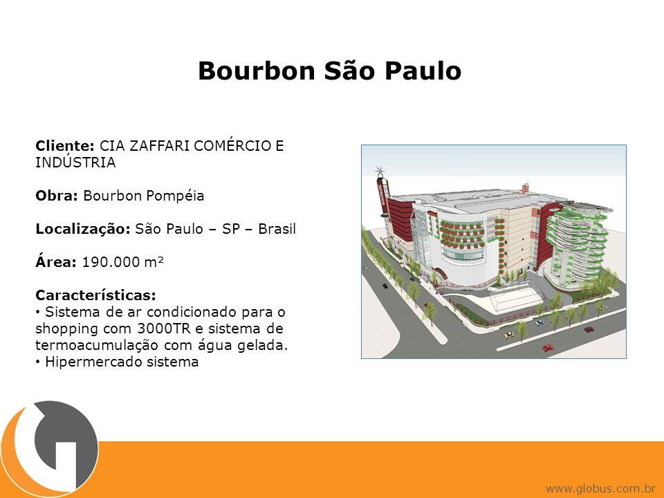 Bourbon São Paulo Cliente: CIA ZAFFARI COMÉRCIO E INDÚSTRIA