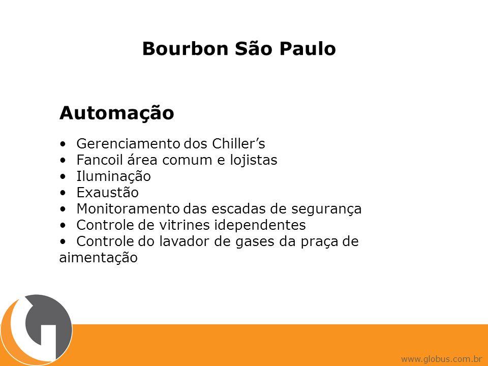 Bourbon São Paulo Automação • Gerenciamento dos Chiller's