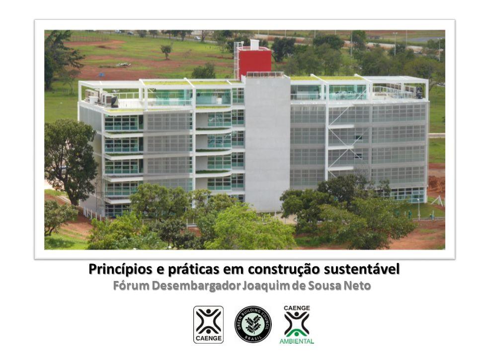 Princípios e práticas em construção sustentável