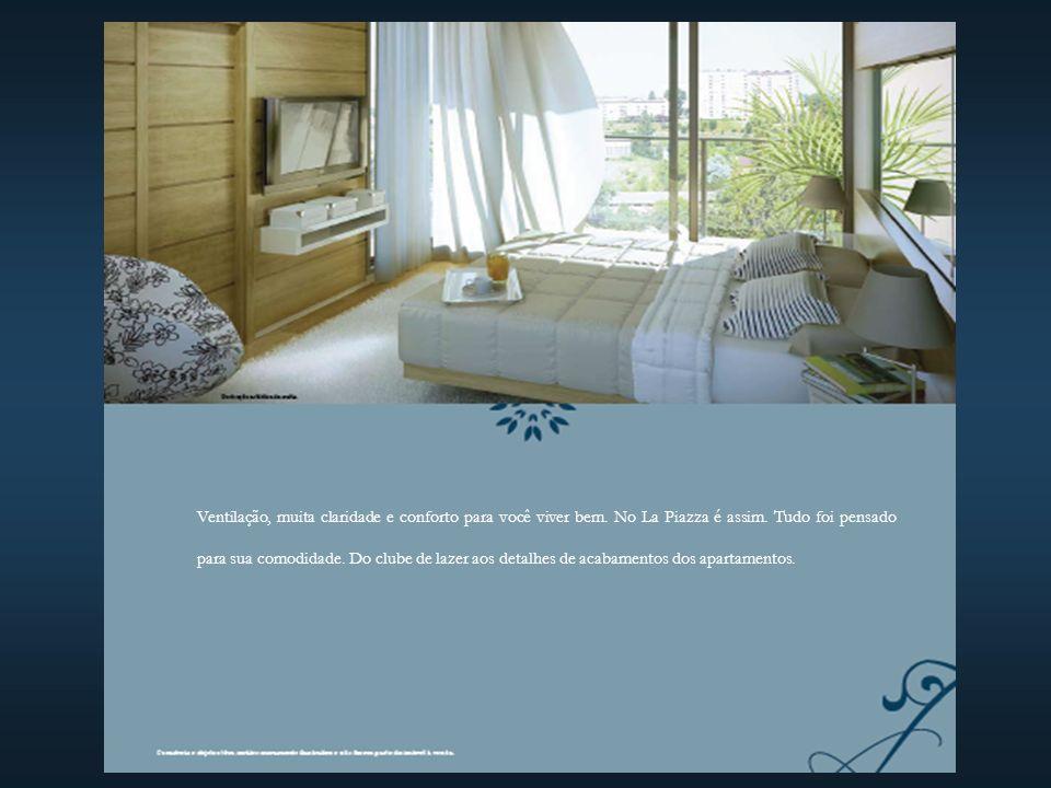Ventilação, muita claridade e conforto para você viver bem
