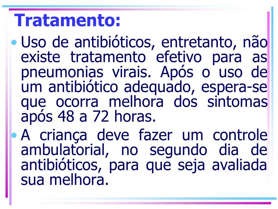 Tratamento: